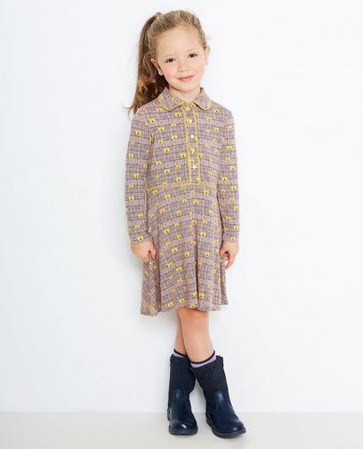 Kleid mit Eulenprint